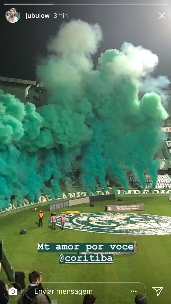 Smoke Color jogos do Coritiba