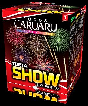 Torta Show 25 tubos 1,5 pol - 09-19 - OK