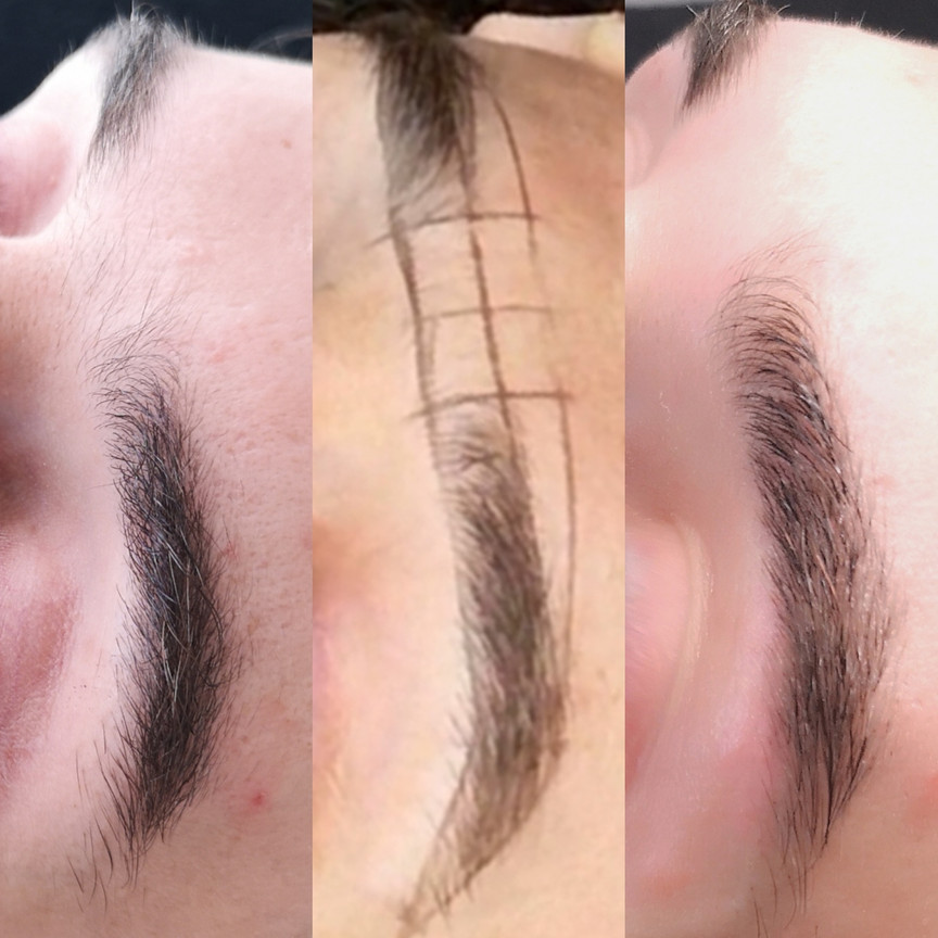 BOY BROWS - Threading