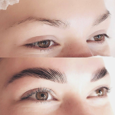 LED Brows with precision tint + Lash Lift
