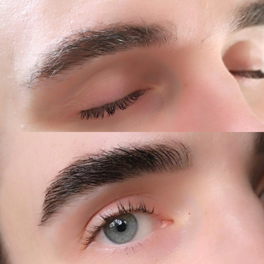 BOY BROWS: Henna Brow Design