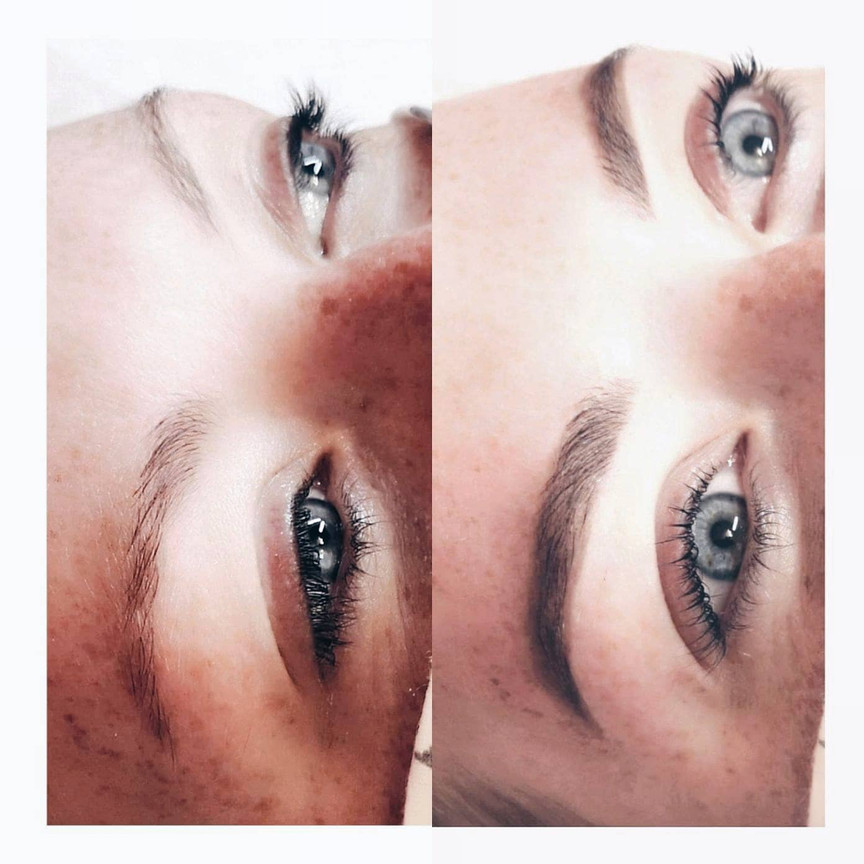 Henna Brow Design + Lash Lift