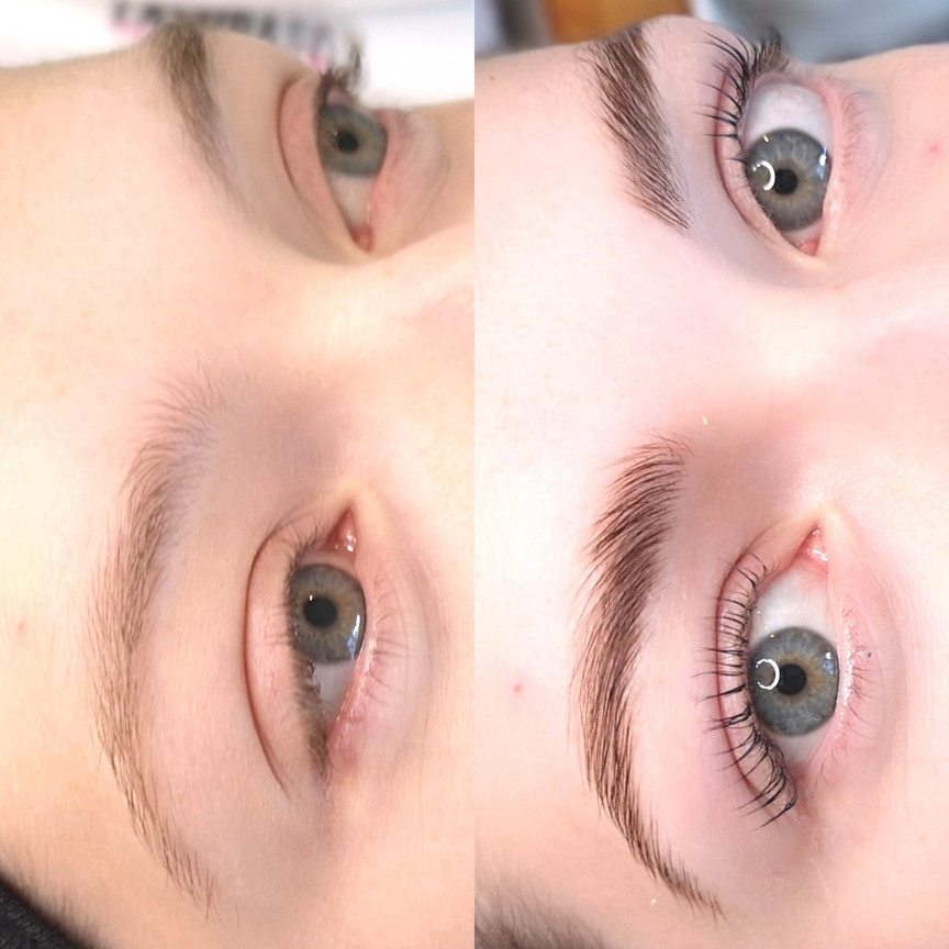 LED BROW LAMINATION + LASH LIFT & COLOUR BOOST