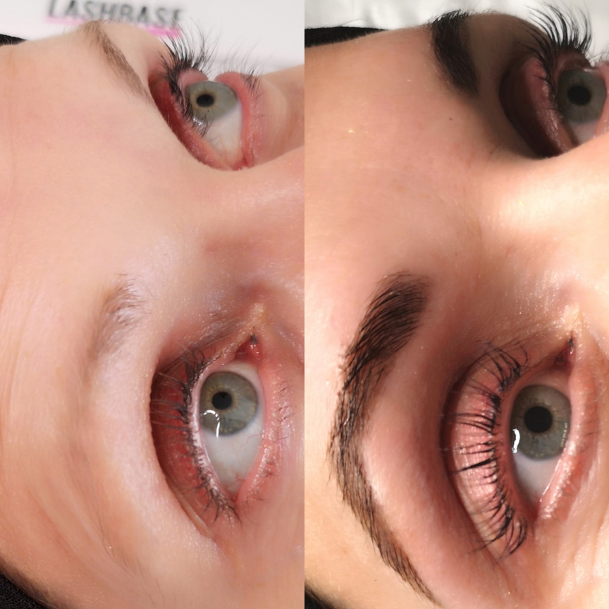 Henna Brow Design & Lash Lift + Colour Boost