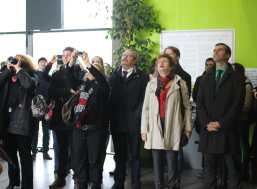 Inauguration au Lycée Régional Merleau Ponty