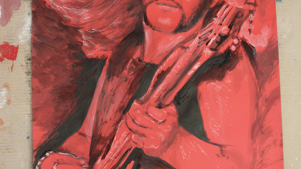 Lemmy kilmister du groupe motorhead photo Georges Amann