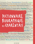 Publication in the dictionary of famous Charente personalities