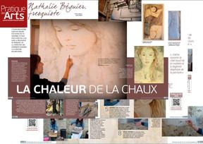 Reportage d'Audrey Higelin pour PRATIQUE DES ARTS n° 129