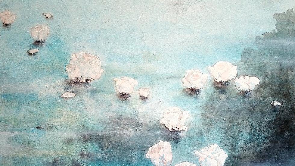 """""""Comme les roses, mes pensées traversent le fleuve du retour"""""""