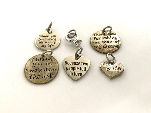"""Babies & Brides"" Charms"