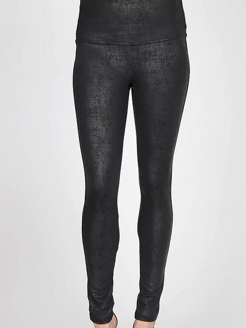 Twill Leatherette Legging