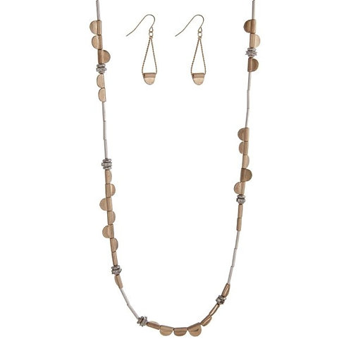 Matte Gold Layering Necklace