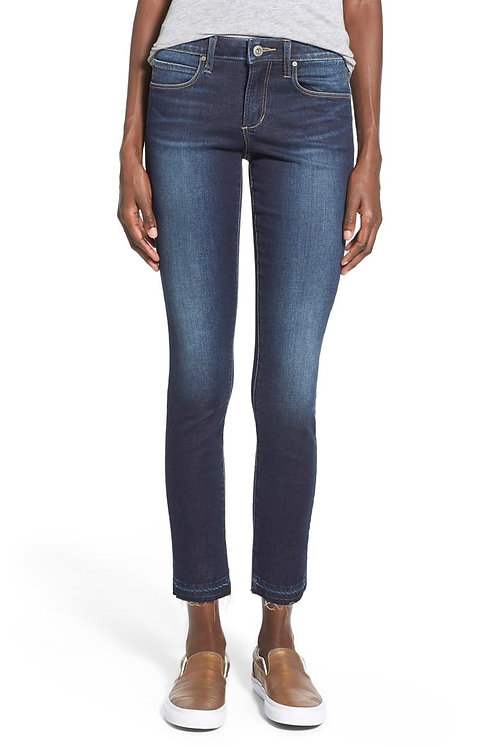 Articles of Society Carly Frayed Hem Ankle Skinny Jeans