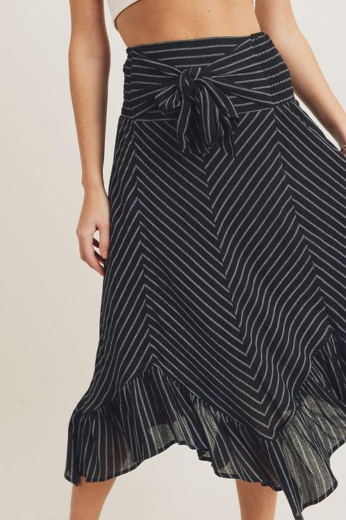 Skirt w/Woven Hem