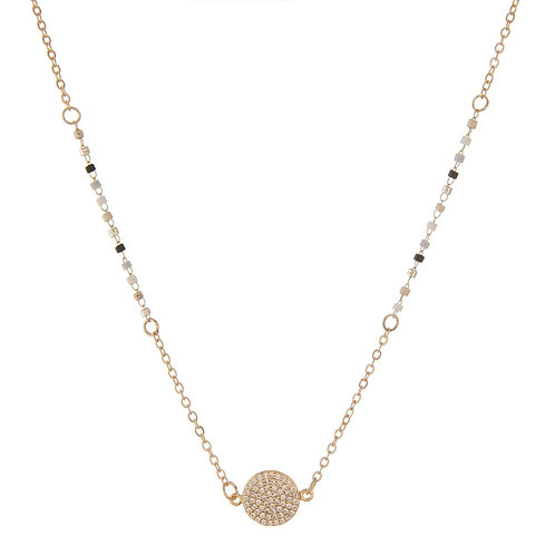 Dainty Seed Beaded Necklace