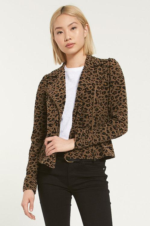 Charley Leopard Jacquard Jacket