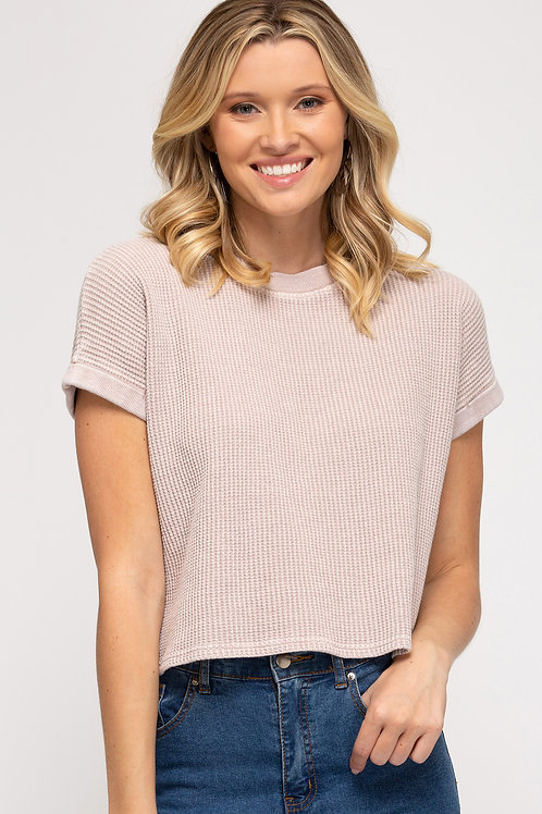 Garment Dyed Thermal Top