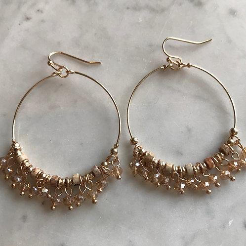 Bohemian Beaded Earring