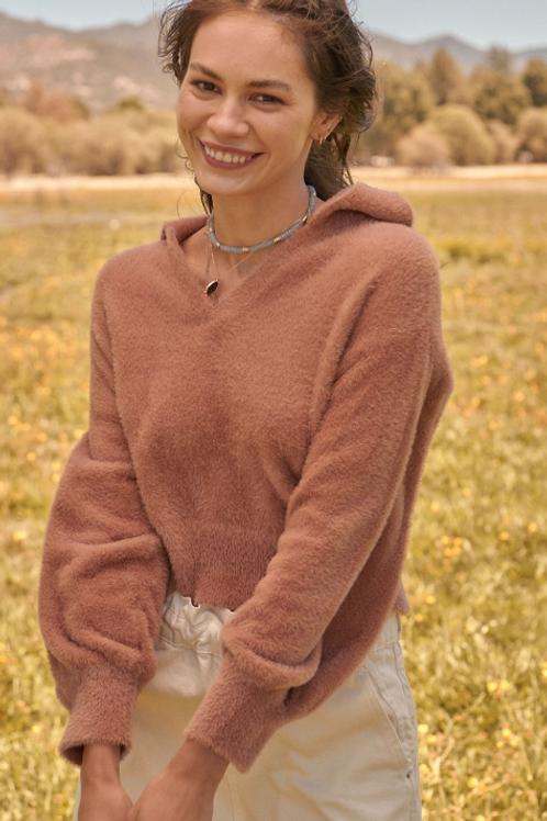 Cozy Collar Sweater