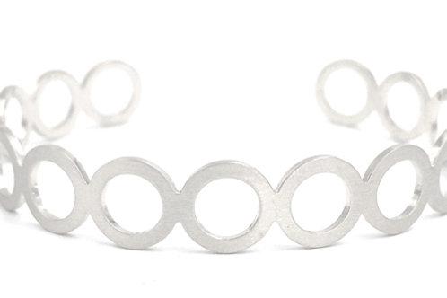 Multi Circle Cuff Bracelet