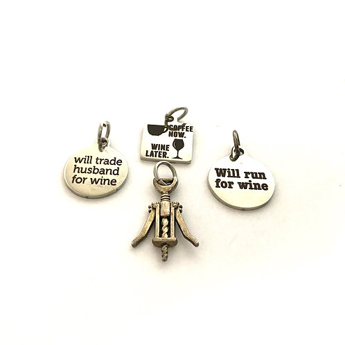 """""""Happy Hour"""" Charms"""