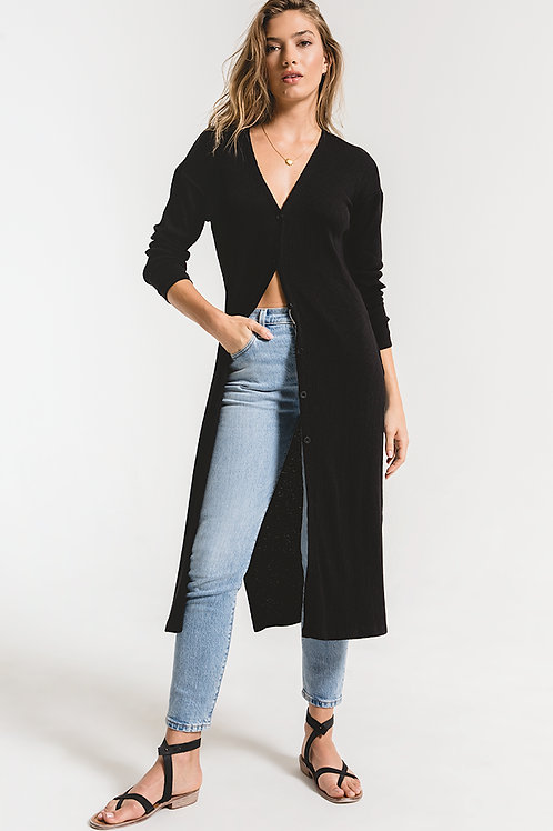 The Textured Rib Duster