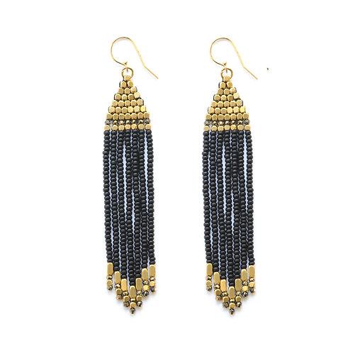 Gemstone Laxmi Earrings