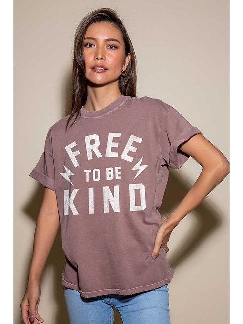 Free To Be Kind Tee