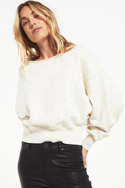 Allie Speckled Sweatshirt