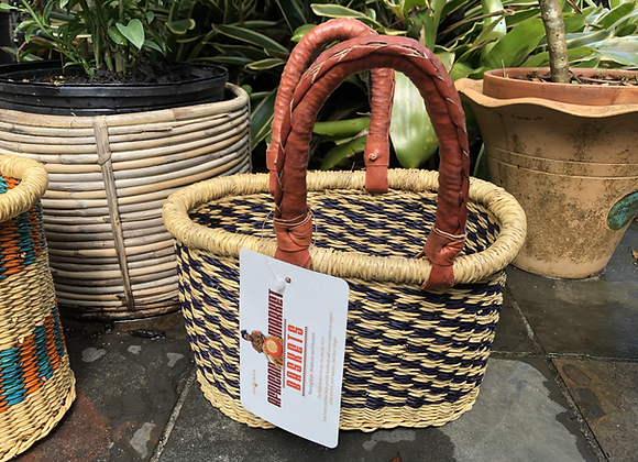 Small oval bolga basket-Afrika