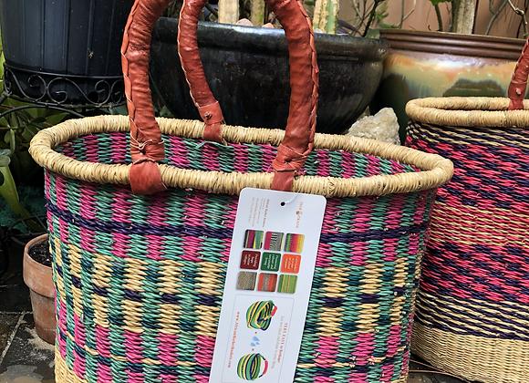 Large oval Bolga basket-Afrika