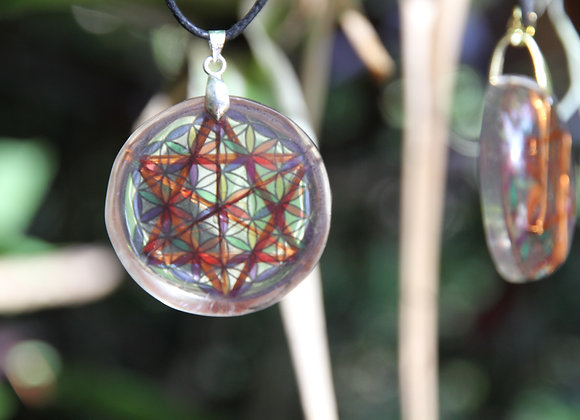 Orgone Flower of Life Resonator
