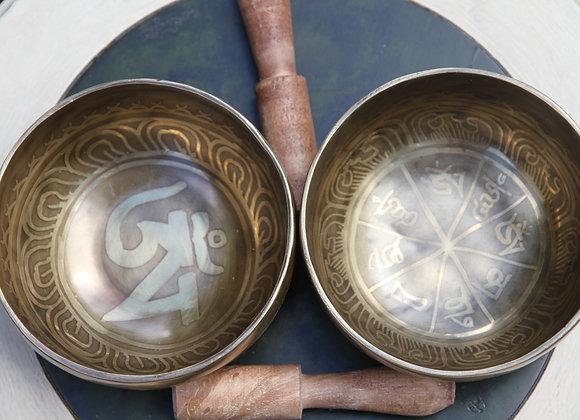 Tibetan singing bowl, 5 inch