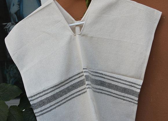 Raw Cotton Ponchos, Child