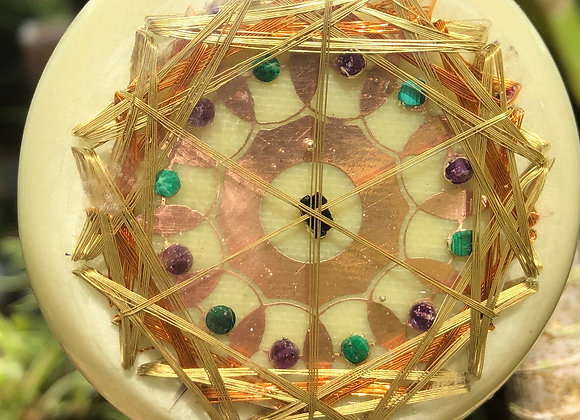 Orgone Crop Circle DNA Resonator