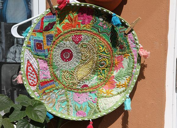 Round Cotton Pillowcase