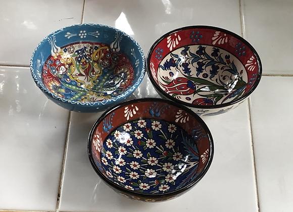 "Handpainted bowls 5"""