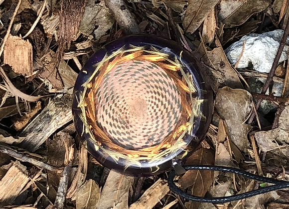 Orgone Cosmic Sensor Plate, Flanagan Double Coil