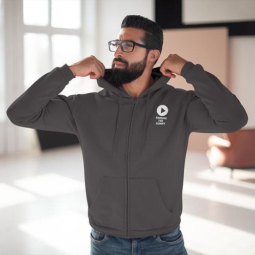 Finding the Funny, season 1- Unisex Hooded Zip Sweatshirt