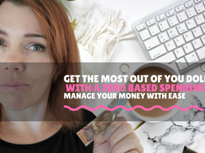 Need more money / plan your spend / zero based spending plan step by step guide