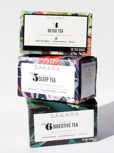 Sakara Life Tea Packaging