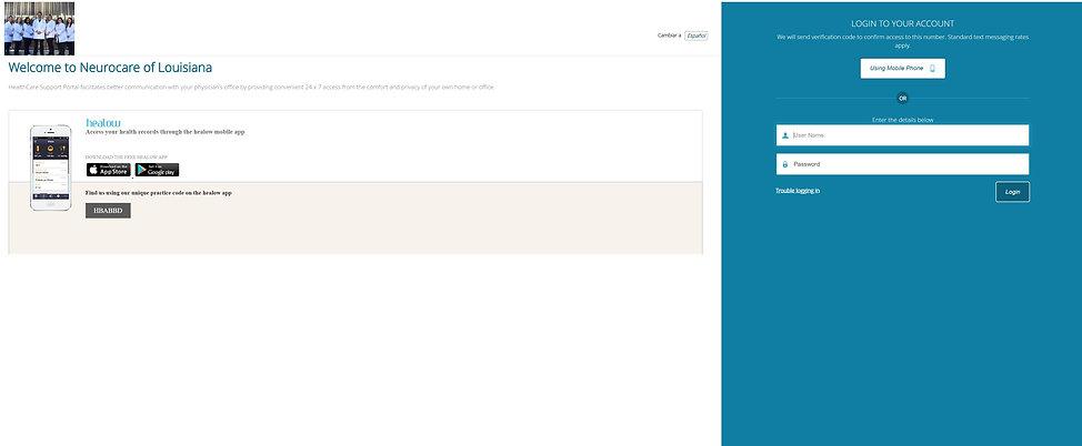 healow website neurocare.JPG
