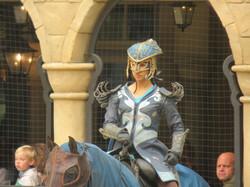 Costumes enfant chevalier et cheval