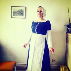 Costume paysanne XVeme siècle