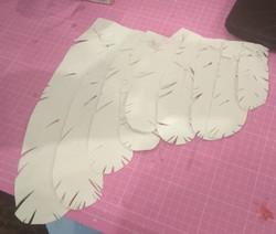 Taillage des 400 plumes