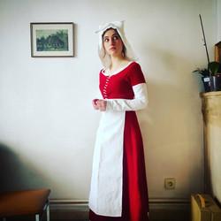 Costume paysanne XVeme siecle