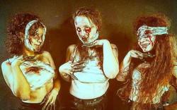 Maquillage réalisés par des élèves de L'arfis