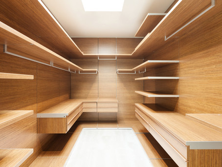 Storage Space: Closets and More!