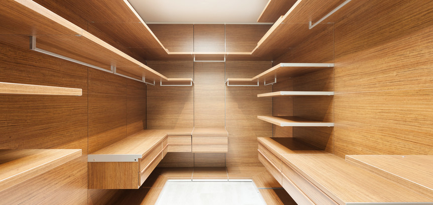 Wooden Dressing Room
