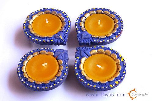 Set of 4| Diwali Diya